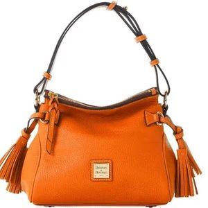 DOONEY & BOURKE Samba Tassel Orange Shoulder Bag
